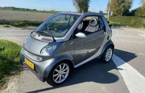 Smart Fortwo Cabrio Airco Leer 2002
